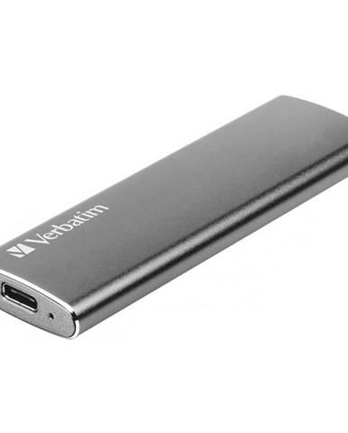 SSD externý Verbatim Vx500 120GB strieborný