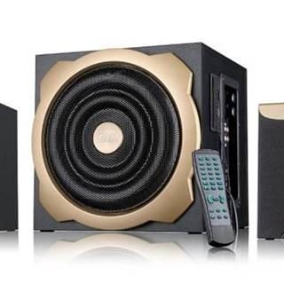 Reproduktory Fenda F&D A520U 2.1, radio, USB, SD, dálkové ovládání