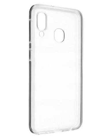 Kryt na mobil Fixed na Samsung Galaxy A20e priehľadný