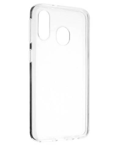 Kryt na mobil Fixed na Samsung Galaxy A40 priehľadný