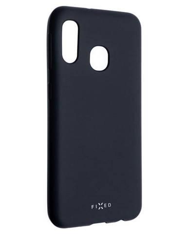 Kryt na mobil Fixed Story na Samsung Galaxy A20e modrý