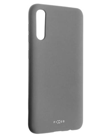 Kryt na mobil Fixed Story na Samsung Galaxy A50 sivý