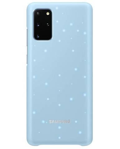 Kryt na mobil Samsung LED Cover na Galaxy S20+ modrý