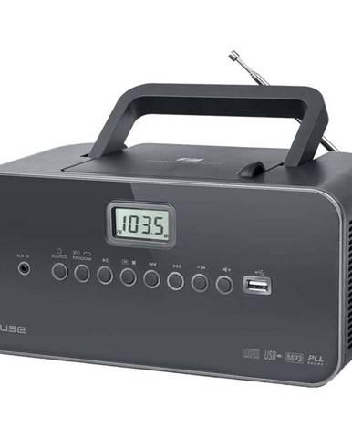Rádioprijímač s CD MM-28DG siv