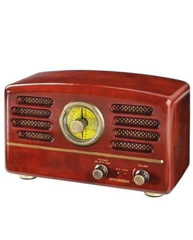 Rádioprijímač Hyundai Retro RA 202 dreven