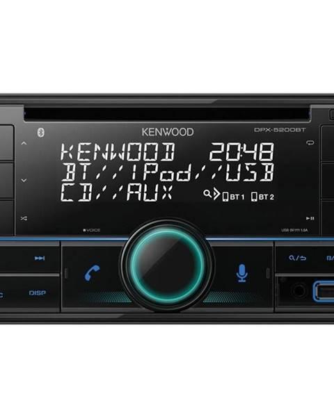 Kenwood Autorádio s CD Kenwood DPX-5200BT čierne