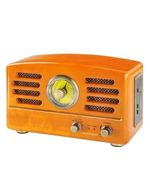 Hyundai Rádioprijímač Hyundai Retro RA 302, dub dreven