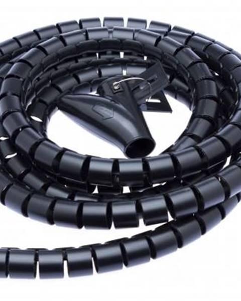 Connect IT Trubice pro kabely Connect IT Winder, 2,5m x 20mm - černý