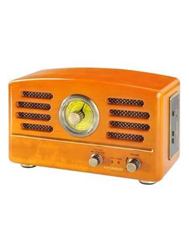 Rádioprijímač Hyundai Retro RA 302, dub dreven