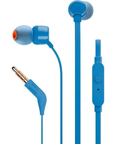 Slúchadlá JBL T110 modrá