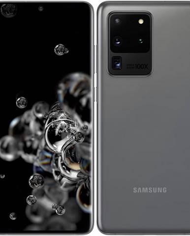 Mobilný telefón Samsung Galaxy S20 Ultra 5G sivý