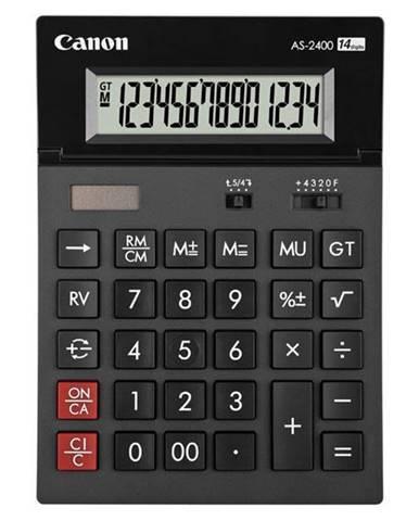 Kalkulačka Canon AS-2400 čierna