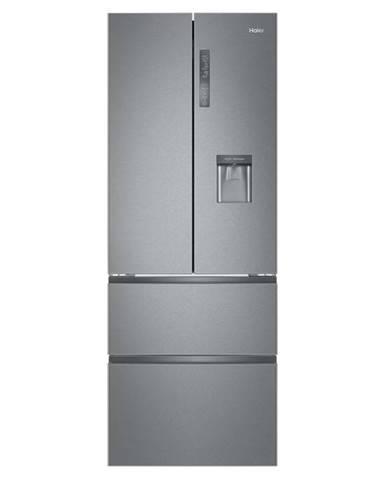 Kombinácia chladničky s mrazničkou Haier B3fe742cmjw nerez