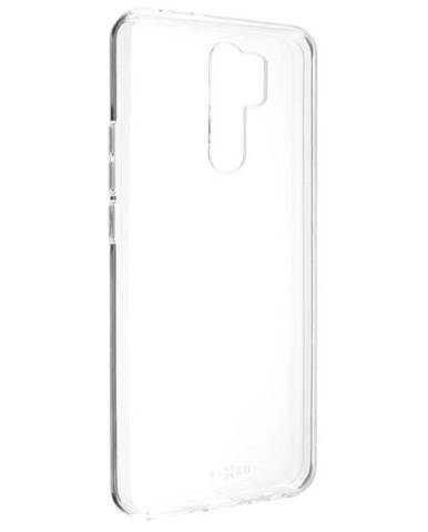 Kryt na mobil Fixed na Xiaomi Redmi 9 priehľadný