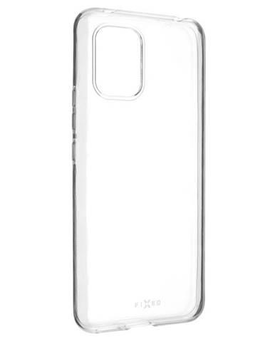 Kryt na mobil Fixed Skin na Xiaomi Mi10 Lite priehľadný