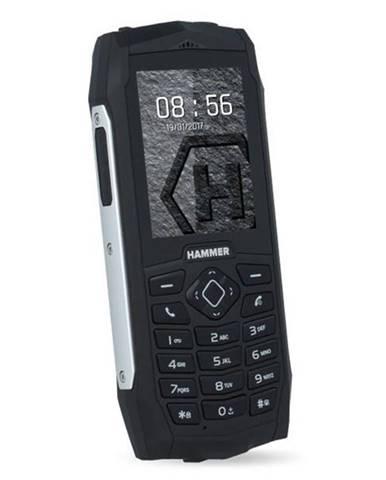 Mobilný telefón myPhone Hammer 3 Dual SIM strieborný