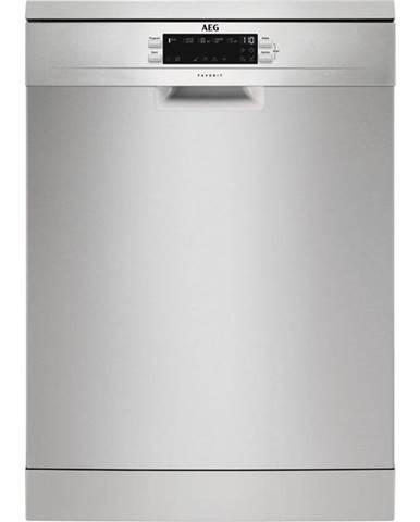 Umývačka riadu AEG Ffb53900zm nerez