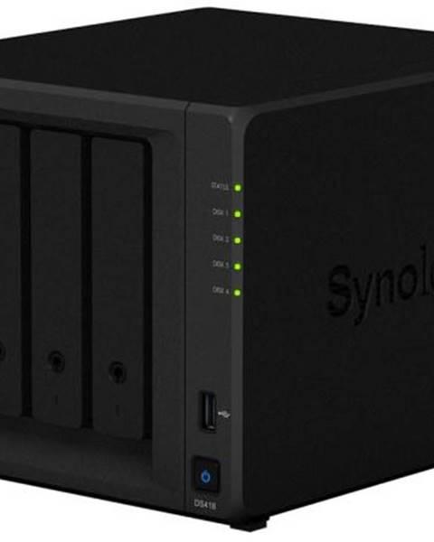 Synology Sieťové úložište Synology DS418 čierne
