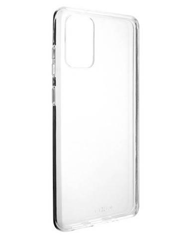 Kryt na mobil Fixed Skin na Samsung Galaxy S20+ priehľadný