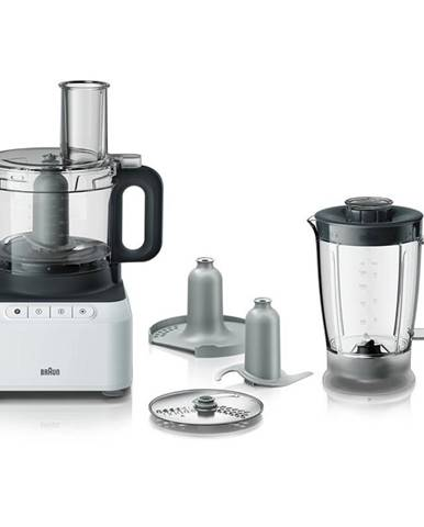 Kuchynský robot Braun PurEase FP 3131.WH sivý/biely