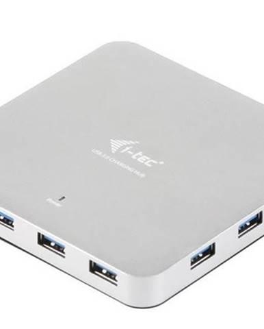 USB Hub i-tec USB 3.0 / 10x USB 3.0 strieborný