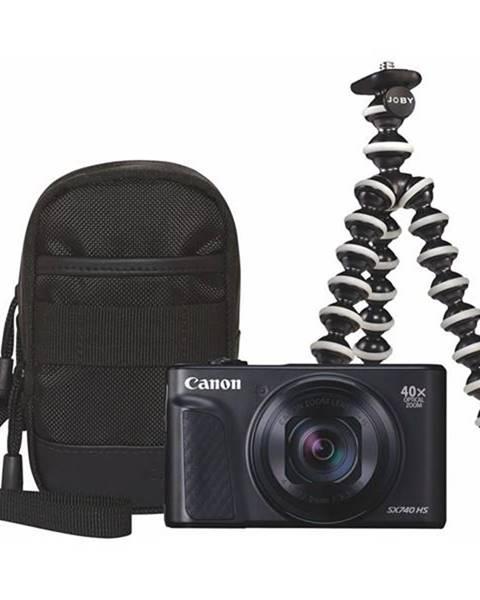 Canon Digitálny fotoaparát Canon PowerShot SX740 HS, Travel KIT čierny
