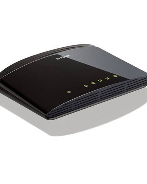 D-Link Switch D-Link DES-1005D strieborný 5 port, 10/100 Mb/s