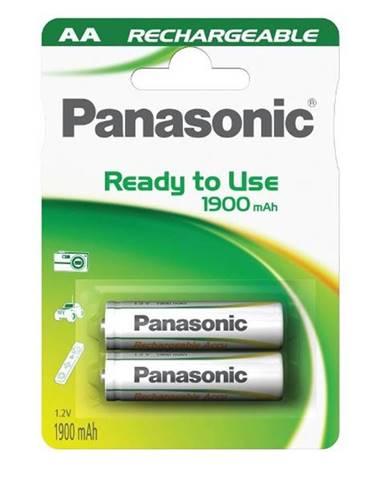 Batéria nabíjacie Panasonic Evolta AA, HR6, 1900mAh, Ni-MH, blistr