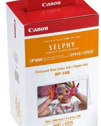 Fotopapier Canon RP-108,10x15 cm, 108 listů pro Selphy