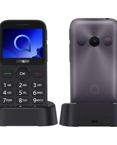 Mobilný telefón Alcatel 2019G sivý