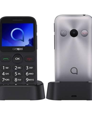 Mobilný telefón Alcatel 2019G strieborný