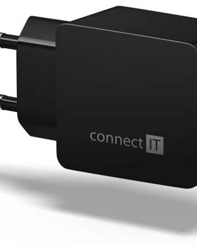 Nabíjačka do siete Connect IT Fast Charge 2x USB, 3,4A s funkcí