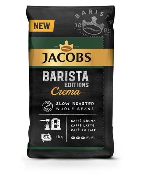 Jacobs Káva zrnková Jacobs Barista Crema 1000g