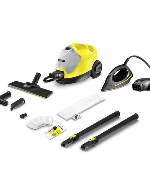 Kärcher Parný čistič Kärcher SC 4 EasyFix Iron Kit žlt