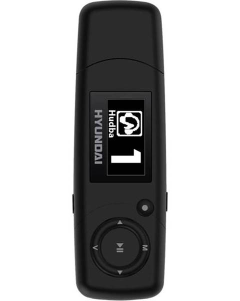 Hyundai MP3 prehrávač Hyundai MP 366 GB8 FM B čierny