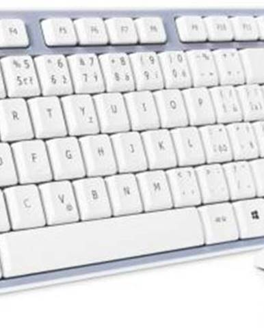 Klávesnica s myšou Connect IT CKM-7510-CS, CZ/SK sivá