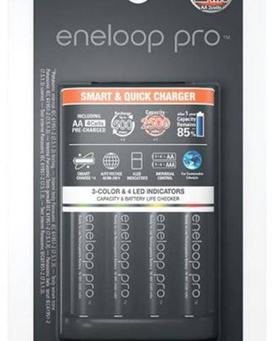 Nabíjačka Panasonic Eneloop Smart-Quick Charger pro AA,AAA + 4x AA