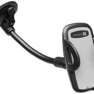 Držiak na mobil Connect IT InCarz, dlouhý čierny
