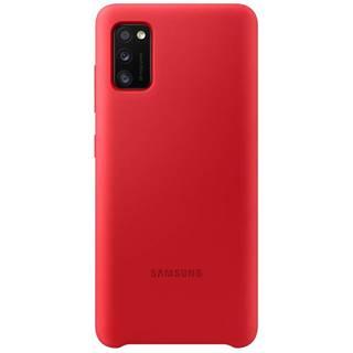 Kryt na mobil Samsung Silicon Cover na Galaxy A41 červený