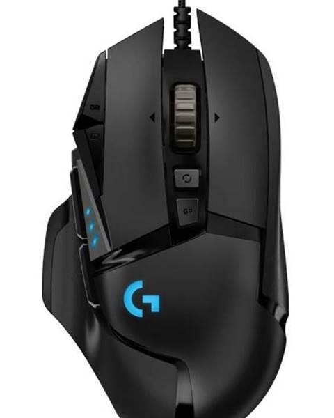Logitech Myš  Logitech Gaming G502 Hero High Performance čierna