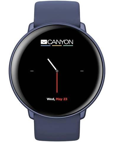Inteligentné hodinky Canyon Marzipan modrý