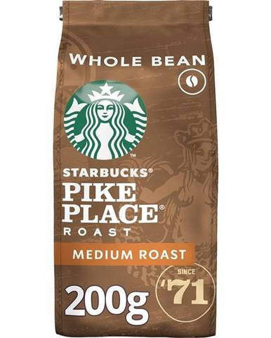 Káva zrnková Starbucks Medium Pike Place Roast 200g