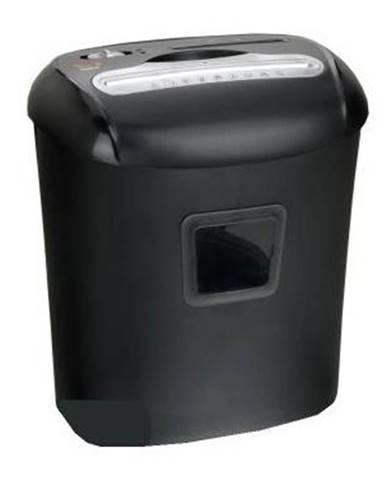 Skartovač Peach PS500-40 10 listů/ 21L/ křížový řez čierny