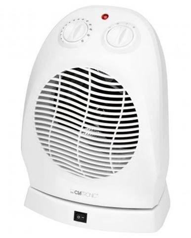 Teplovzdušný ventilátor Clatronic HL 3377  biely