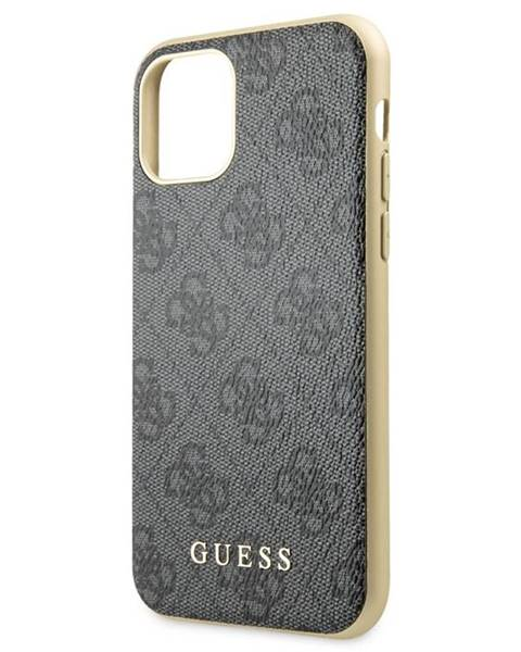 Guess Kryt na mobil Guess 4G na Apple iPhone 11 Pro Max sivý