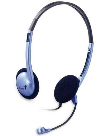 Headset  Genius HS-02B strieborný