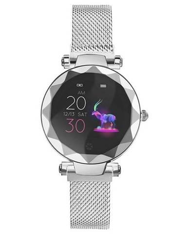 Inteligentné hodinky Immax SW12 strieborné