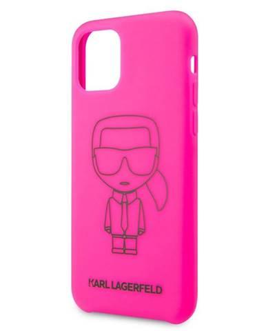 Kryt na mobil Karl Lagerfeld na Apple iPhone 11 Pro ružový