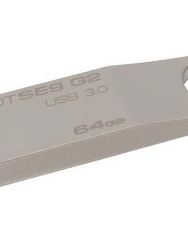USB flash disk Kingston DataTraveler SE9 G2 64GB kovový
