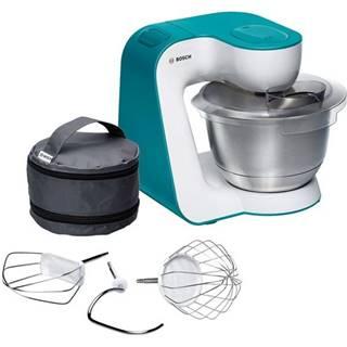 Kuchynský robot Bosch StartLine Mum54d00 biely/tyrkysov